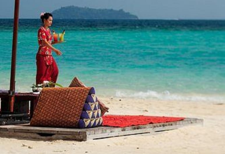 Zeavola Resort, Ko Phi Phi, Plaża