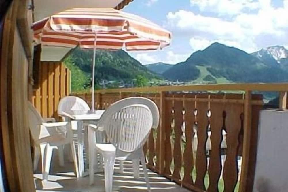 Komforta dzīvokļnumurs, viena guļamistaba - Balkons
