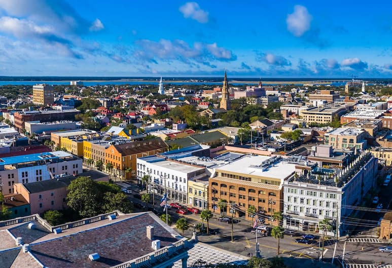 Elliott House Inn, Charleston, Kilátás a városra