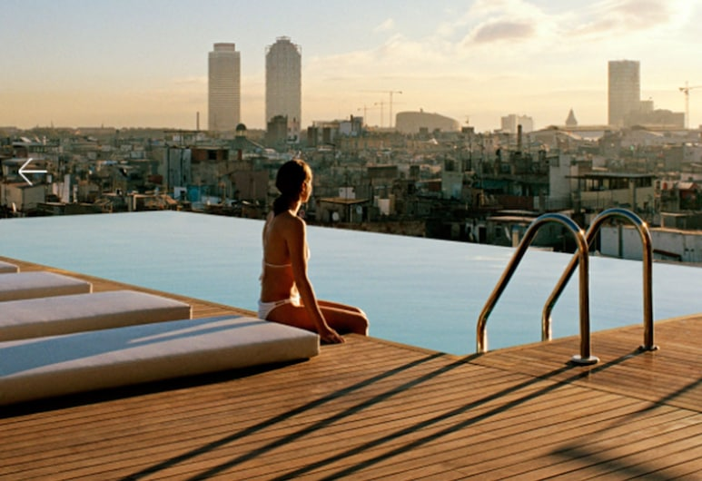 Grand Hotel Central - Small Luxury Hotels of the World, Barcelona, Vista do hotel