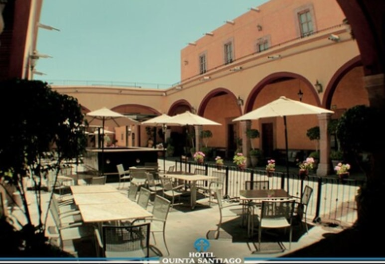 Hotel Quinta Santiago, Queretaro, Outdoor Dining