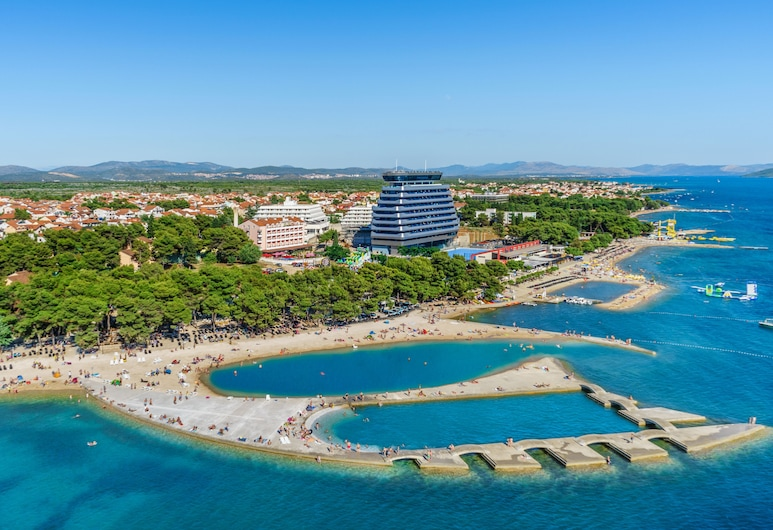 Hotel Olympia, Vodice, Aerial View