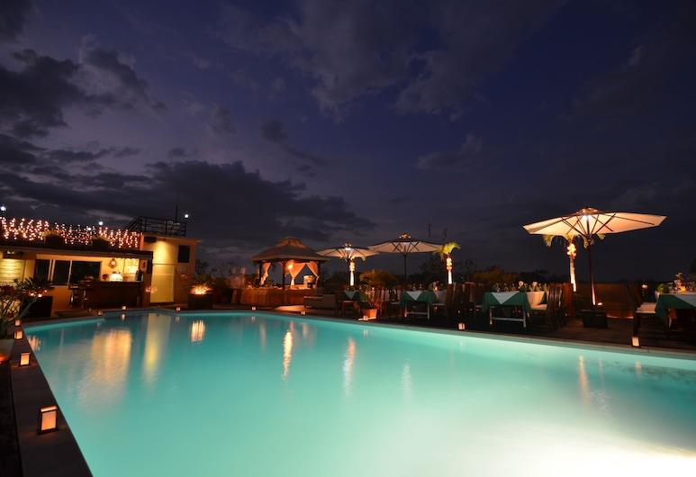 City River Hotel, Siem Reap, Außenpool