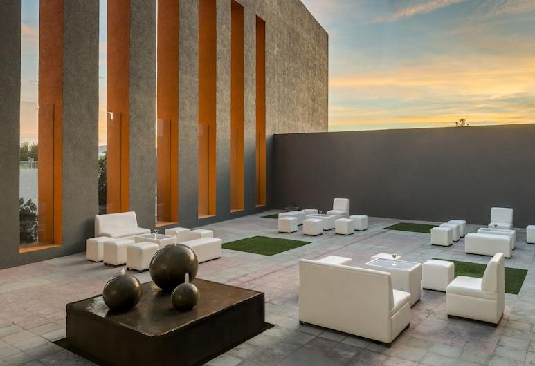 Real Inn Ciudad Juárez, Ciudad Juarez, Terrace/Patio