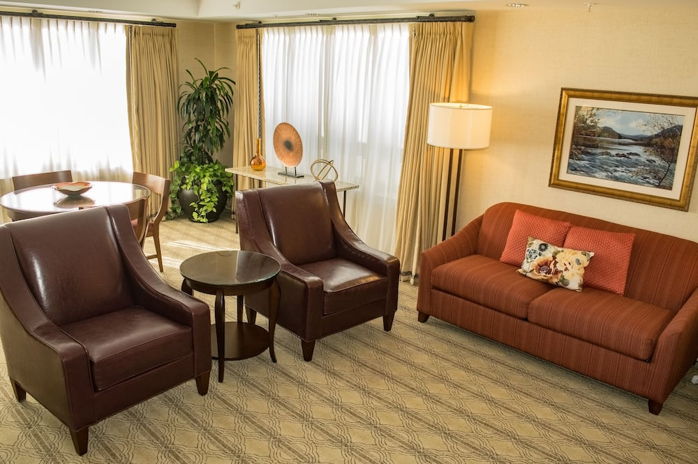 Executive Suite, Multiple Beds - Living Room