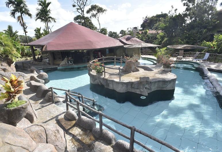 羅斯拉各斯溫泉渡假飯店, 拉福爾圖納, 室外游泳池