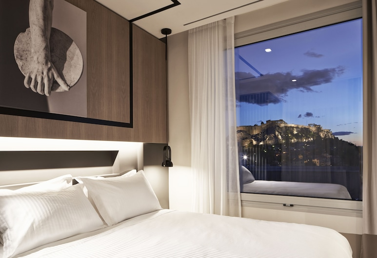Urban Frame Hotel, Athén, Superior háromágyas szoba, kilátással a városra, Vendégszoba