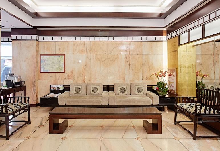 La Plaza Hotel, Tainan, Superior Room, 1 Double Bed, Lobby Sitting Area
