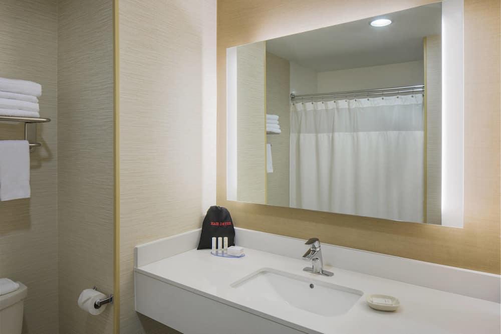 Izba, 1 extra veľké dvojlôžko, nefajčiarska izba - Kúpeľňa