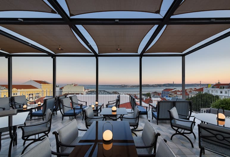 Bairro Alto Hotel, Lisabon, Terasa/trijem