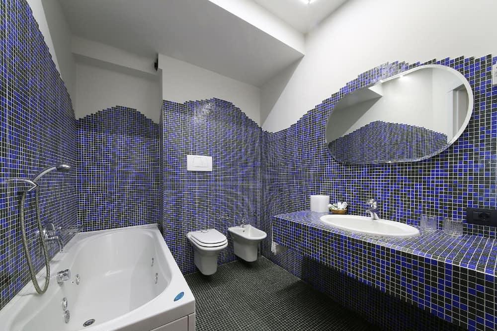 Chambre Double Confort, vue lac - Salle de bain