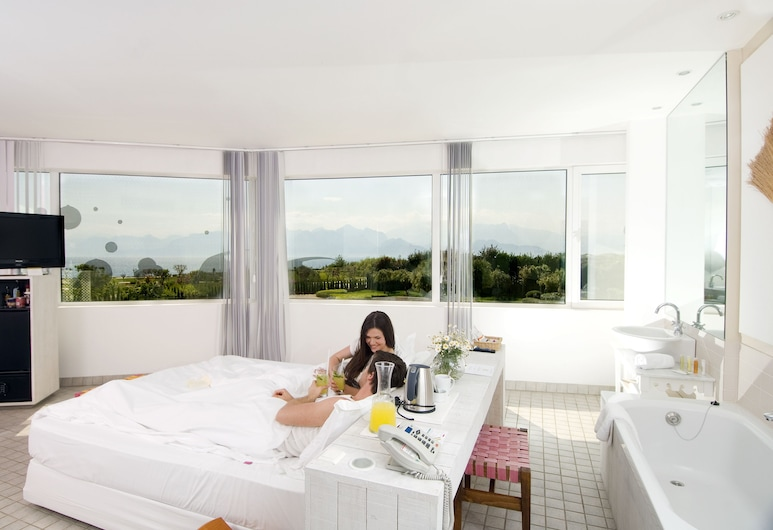 The Marmara Antalya, Antalya, Deluxe-Zimmer, Ausblick vom Zimmer