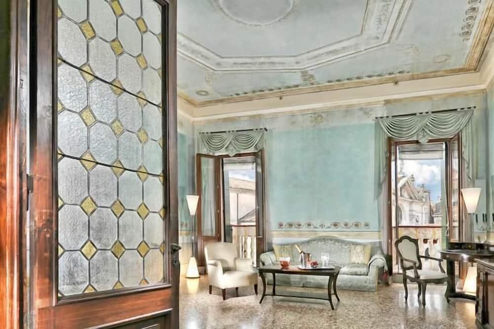 Suite Deluxe, balcone - Area soggiorno
