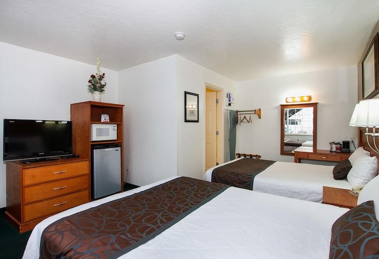 Palms Motel, Portland, Standardrum - 2 dubbelsängar, Vardagsrum