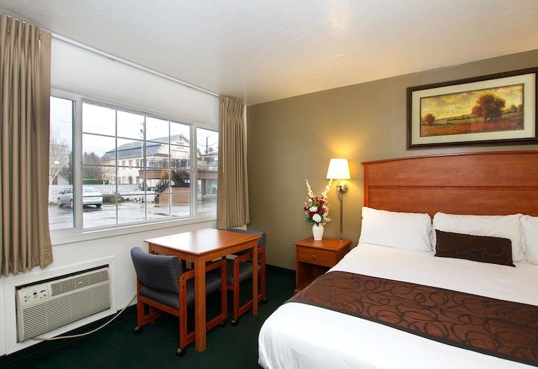Palms Motel, פורטלנד, חדר סטנדרט, מיטת קינג, חדר אורחים