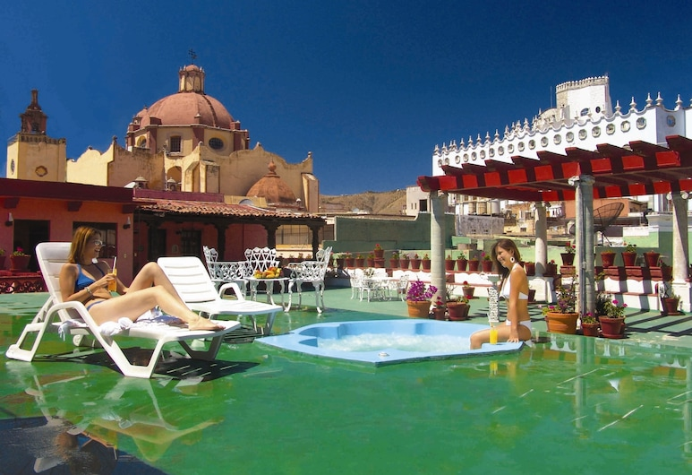 Hotel Posada Santa Fe, Guanajuato, Rooftop Pool