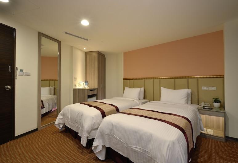 統茂松柏大飯店, 高雄市, 精緻雙床房, 2 張單人床, 客房