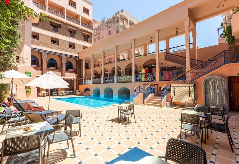 歐德亞酒店及 SPA, 馬拉喀什, 室外泳池