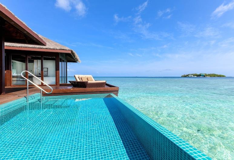 Sheraton Maldives Full Moon Resort & Spa, Ostrov Furanafushi, Prezidentský apartmán, 2 spálne, nefajčiarska izba, Hosťovská izba