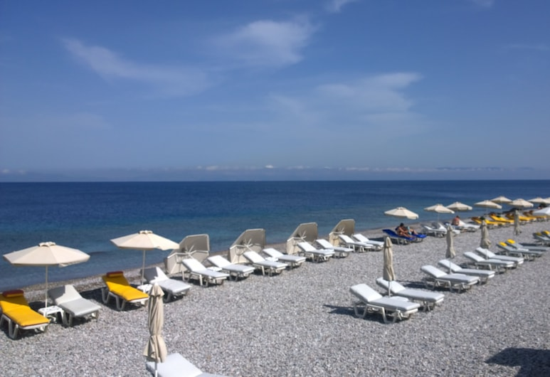 Athena Hotel, Rodas, Playa
