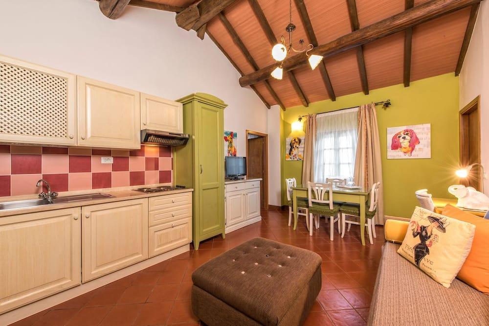Apartament standardowy, 1 sypialnia - Salon