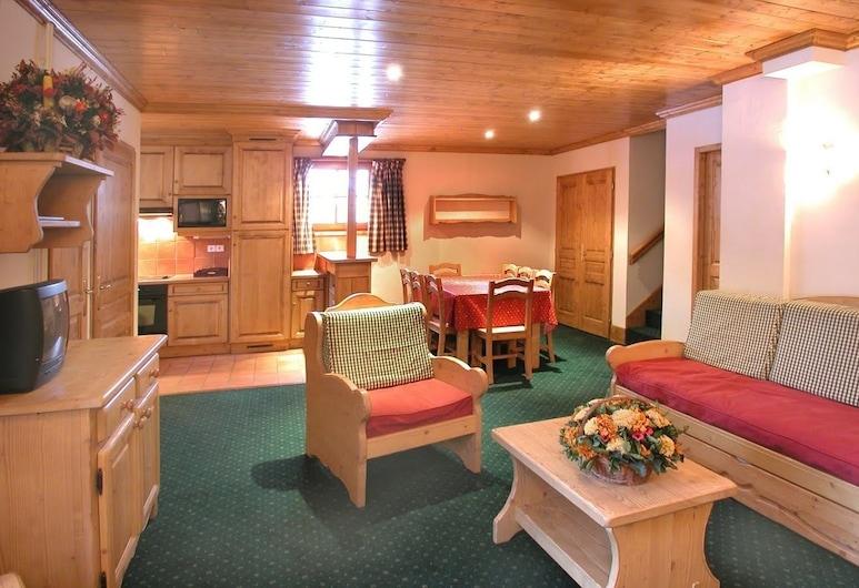 Résidence l'Alpina Lodge, Les Deux Alpes, Apartment, 1 Bedroom, Living Area