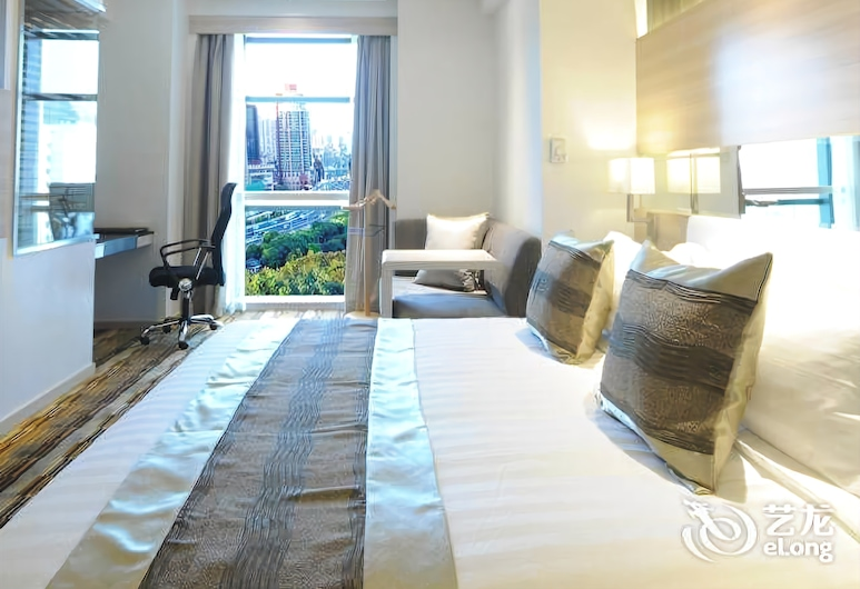 Gubei Garden Hotel - Shanghai, שנחאי, חדר אורחים