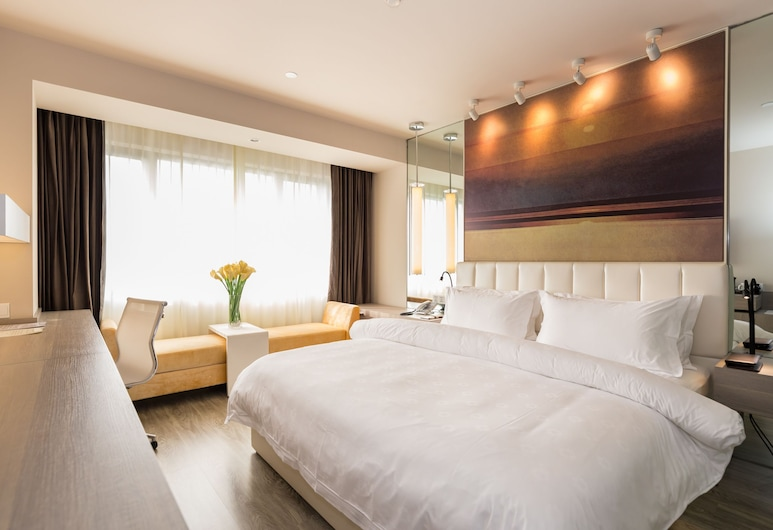 JinJiang Metropolo Hua Ting Guest House, Shanghai, OESD Extreme Sassy Double Room, Guest Room