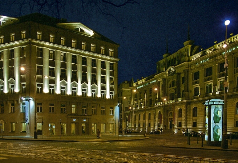 987 Design Prague Hotel, Praga, Fachada