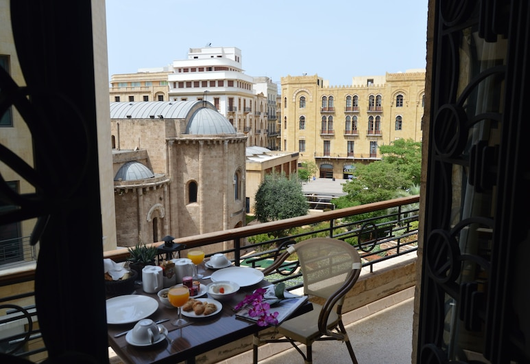 Etoile Suites Boutique Hotel Down Town, Beirut, Deluxe-Zimmer (Grand), Balkon