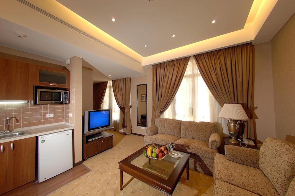 Suite, 1 slaapkamer - Woonruimte