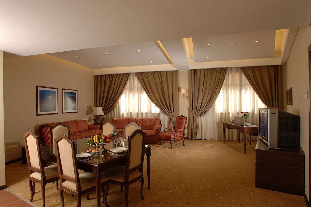 Suite, 2 slaapkamers - Woonkamer