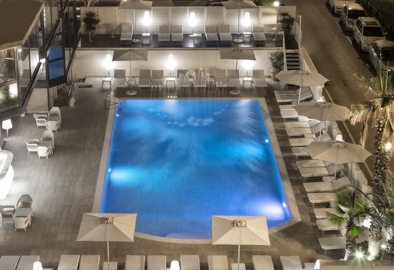 Hotel Sporting, Rimini, Kolam Terbuka