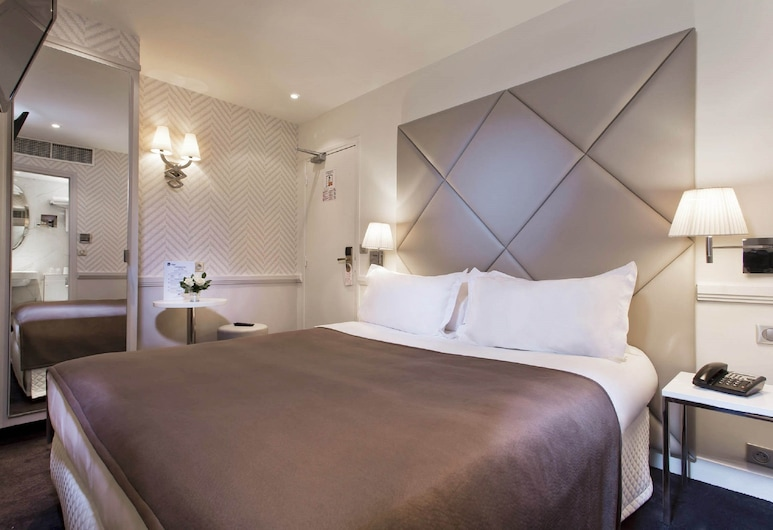 Hotel Longchamp Elysees, Paris, Chambre Simple, Chambre
