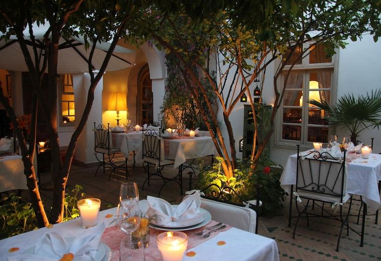 Riad Clémentine, Marrakech, Restauration en terrasse