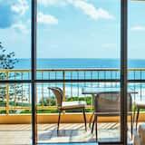 Standaard kamer, 2 slaapkamers, uitzicht op zee - Balkon