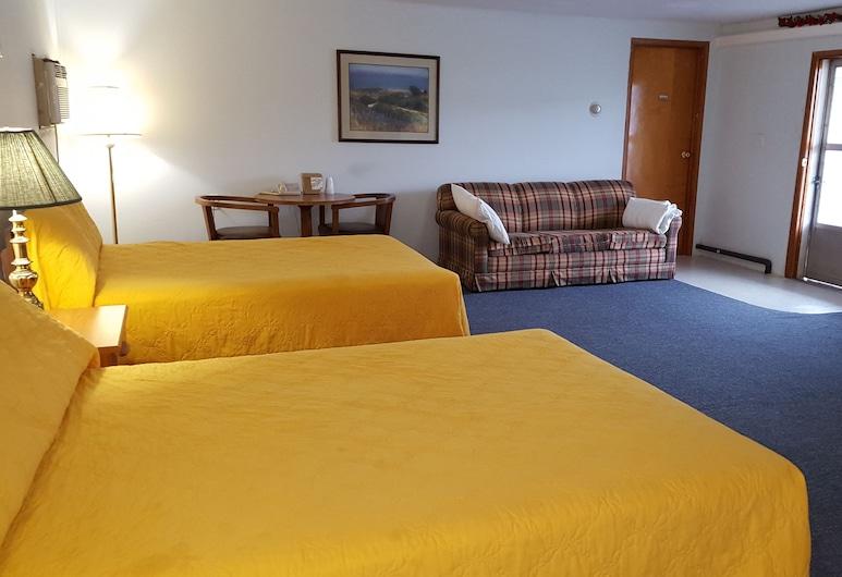 Budget Inn, Wellsville, Habitación estándar, 2 camas dobles, para no fumadores, Vista de la habitación