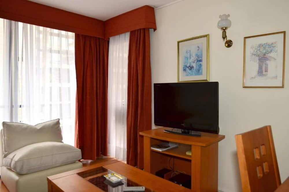 Superior-Apartment, 1 Schlafzimmer - Wohnzimmer