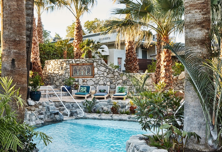 Two Bunch Palms Spa Resort - Adults Only, Desert Hot Springs, Basen odkryty