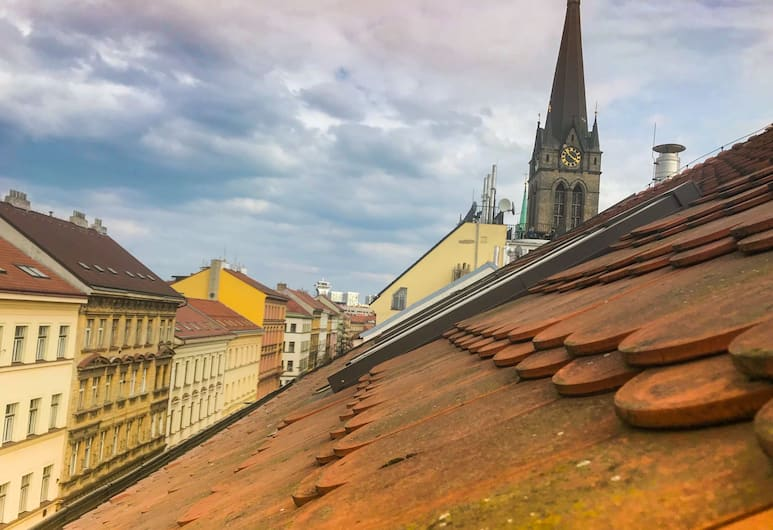 Hotel Victoria, Prague, View from Hotel