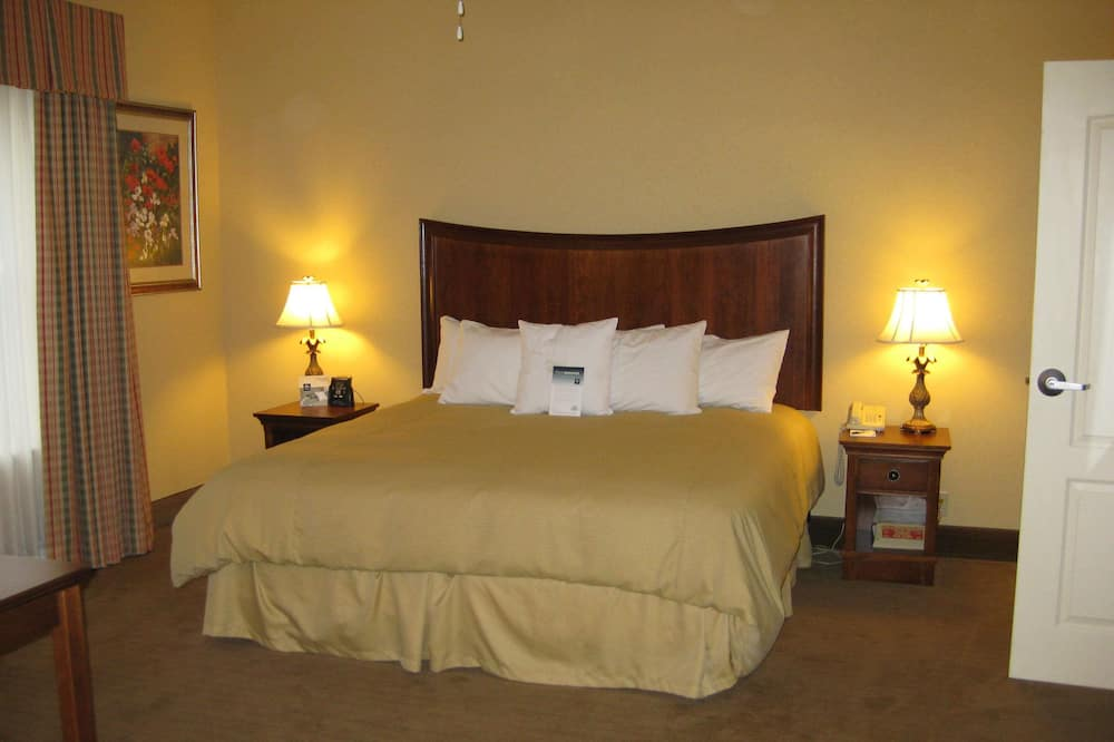 One Bedroom Suite, One King Bed, Non-Smoking - Living Area