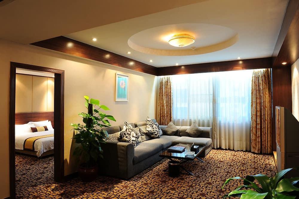 Suite Exécutive, 1 très grand lit - Salle de séjour