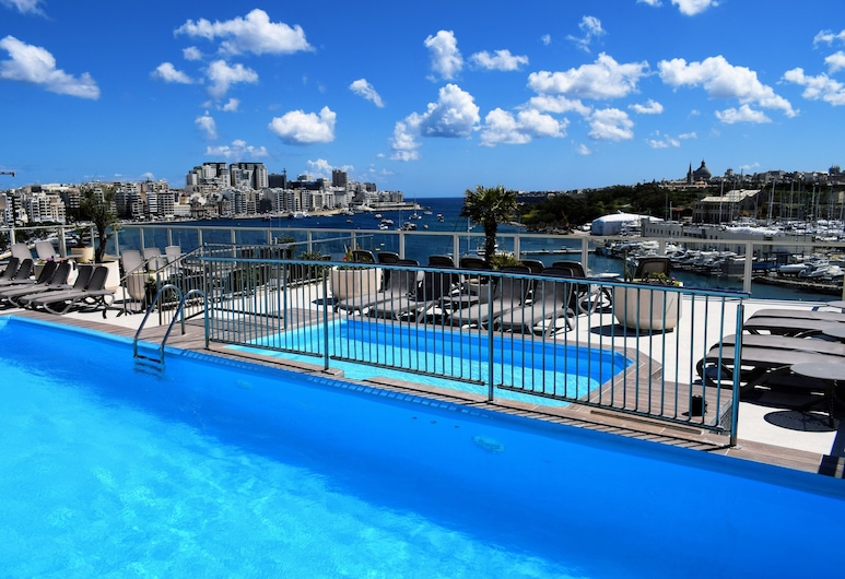 Bayview Hotel by ST Hotels, Gzira, Outdoor Pool