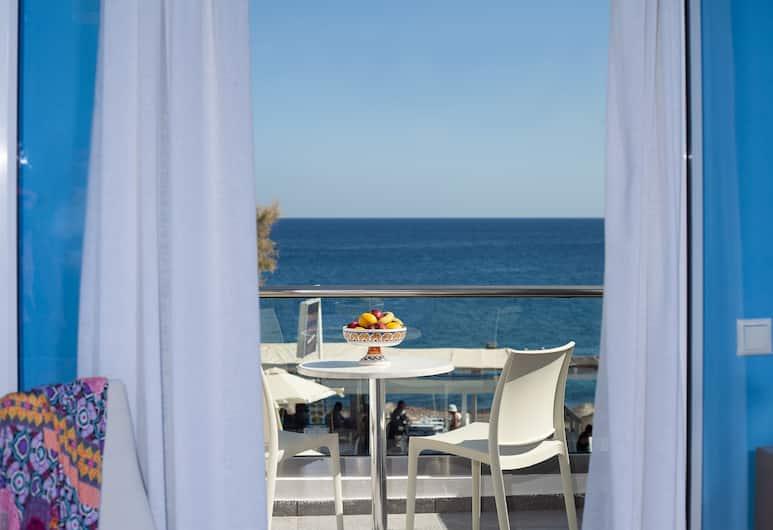 Poseidon Beach Hotel, Santorini, Double Room, Sea View, Guest Room View