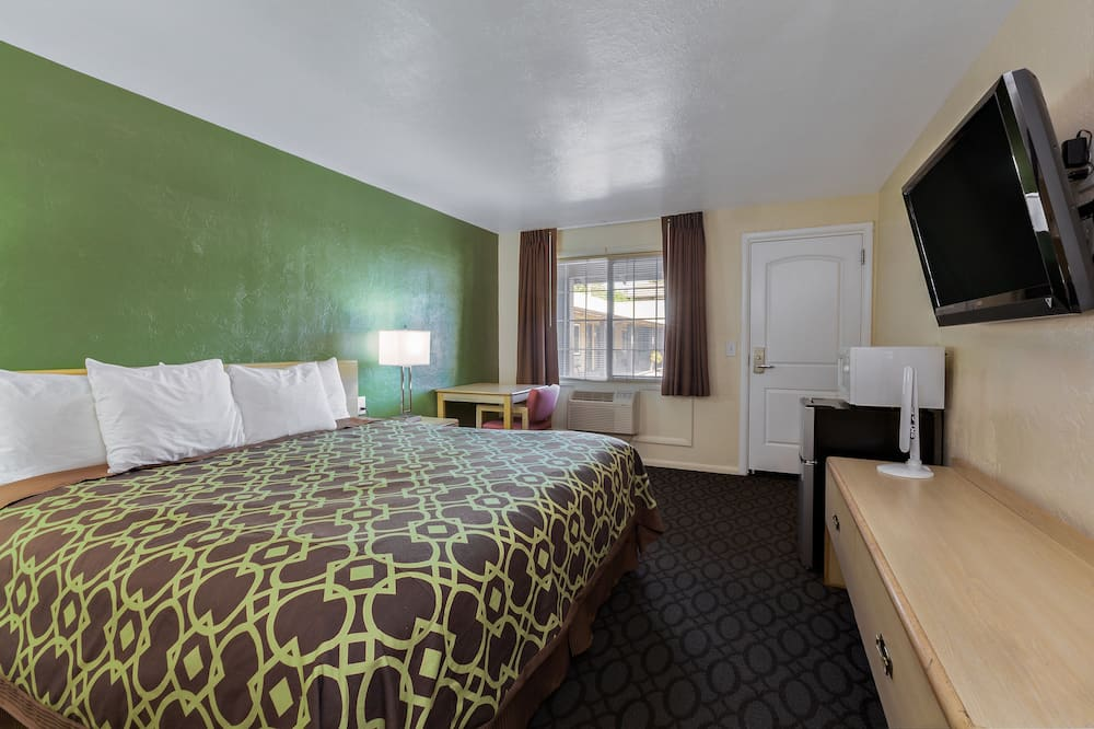 Habitación estándar, 1 cama de matrimonio grande, no fumadores - Zona de estar