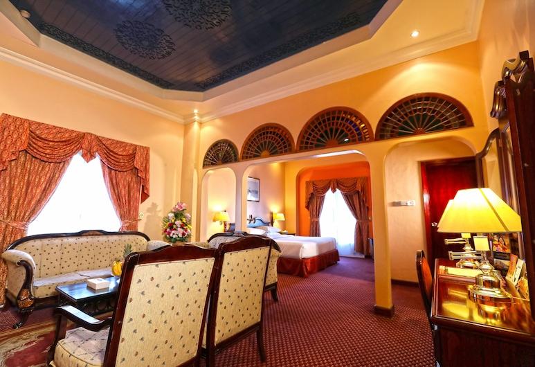 Delmon International Hotel, Manama, Suite, 1 cama King size, Habitación