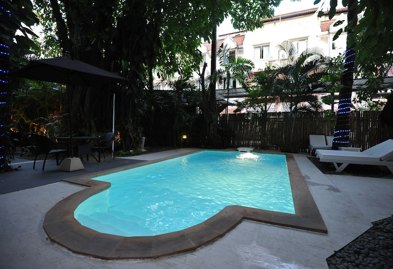 Siam Palm Residence, Patong, Outdoor Pool