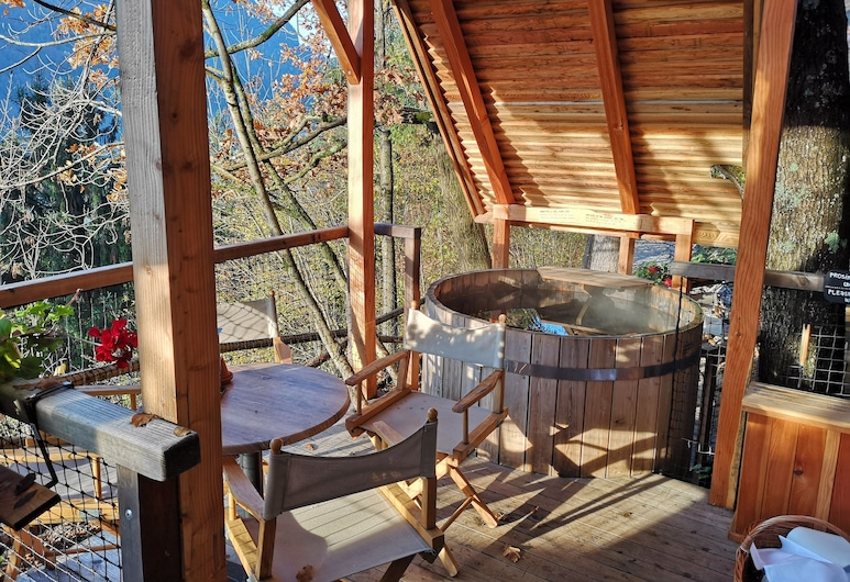 Hotel Ribno, Bled, Glamping House, Αίθριο/βεράντα
