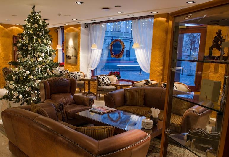 Savoy Boutique Hotel by TallinnHotels, Tallinn, Lobby Sitting Area