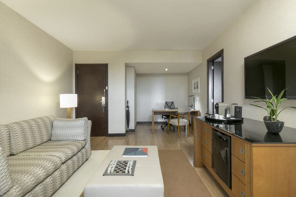 The Level Junior Suite King (3AD) - Living Room